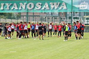 8月2日宮の沢白恋人サッカー場